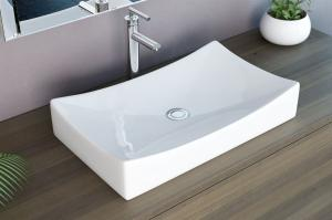 Keramické  umývadlo IMPERO 2, biele, hranaté