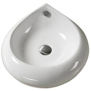 Keramické  umývadlo na dosku  TEAR 465x465x195