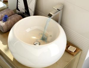 Keramické  umývadlo SEASHELL 410x410x195