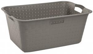 KETER  - Kôš Umelá hmota na čisté prádlo 40L sivý