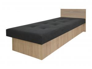 KF Jednolôžková posteľ Emily Plus dub sonoma