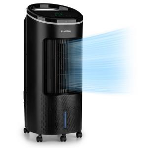 Klarstein IceWind Plus, 4 v 1 ochladzovač vzduchu, ventilátor, zvlhčovač vzduchu, čistič vzduchu, 330 m³/h, 65 W, 7 litrov, 4 rýchlosti, oscilácia, ionizátor, časovač, diaľkový ovládač, mobilný
