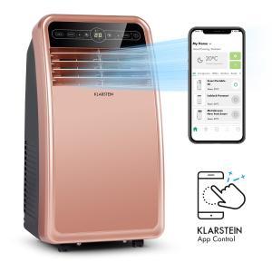 Klarstein Metrobreeze New York Smart 7k, mobilná klimatizácia, 7000 BTU/2,1 kW, energetická trieda A, diaľkový ovládač