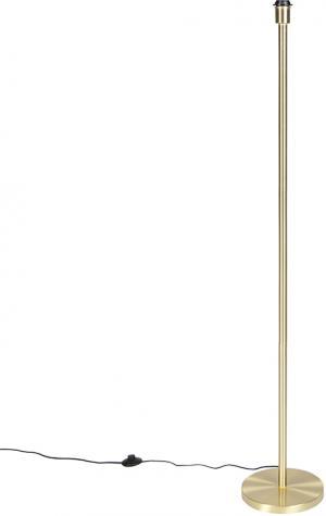 Klasická stojaca lampa mosadz bez tienidla - Simplo