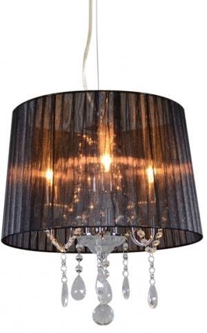 Klasický lustrový chróm s čiernym odtieňom - Ann-Kathrin 3