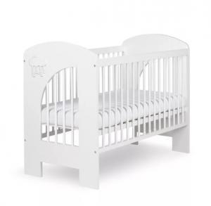 KLUPS - Postieľka detská NEL - Obláčik 120x60 cm biela