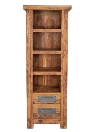 Knižnica CORAL – 70 × 45 × 195 cm