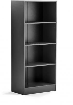 Knižnica Flexus, 1725x760x415 mm, šedá