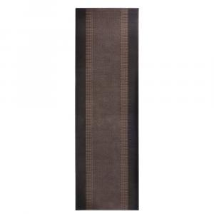 Koberec Basic, 80x250 cm, hnedý
