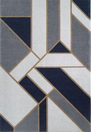 Koberec Carpet Decor Art Deco GATSBY, tmavomodrý