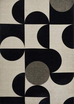 Koberec Carpet Decor Art Deco MONO, biely