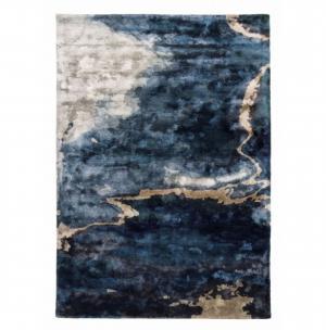 Koberec Carpet Decor Handmade ESCAPE, modrý