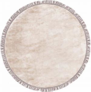 Koberec Carpet Decor Handmade LUNA kruh, béžový