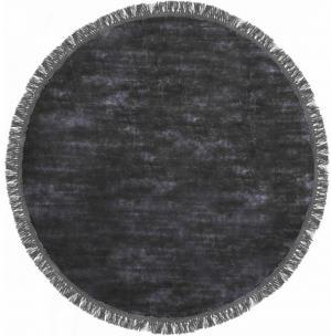 Koberec Carpet Decor Handmade LUNA kruh, polnočná