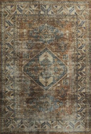 Koberec  Carpet Decor Magic Home Print PERSIAN, hnedý