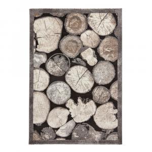 Koberec s motívom dreva Think Rugs Woodland, 120×170cm
