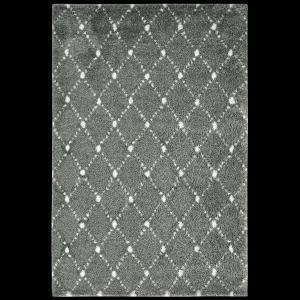 Koberec Shaggy Obsession MANHATTAN MAH 791 silver, od 60x110cm