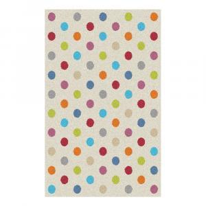 Koberec Universal Norge White Dots, 80×150cm