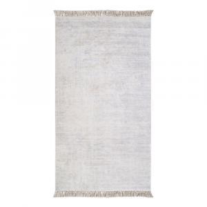 Sivý koberec Vitaus Hali Geometrik, 80×150cm