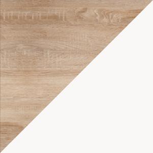 WIP Komoda RIO 06 Farba: Dub sonoma svetlá / biela