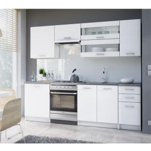 KONDELA Fabiana 240 kuchyňa biela
