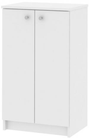 KONDELA Galena SI06 kúpeľňová skrinka biela