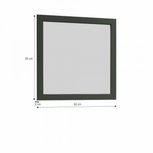 KONDELA Provance LS2 zrkadlo na stenu zelená