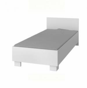 KONDELA Svend Typ 36 90 jednolôžková posteľ biela