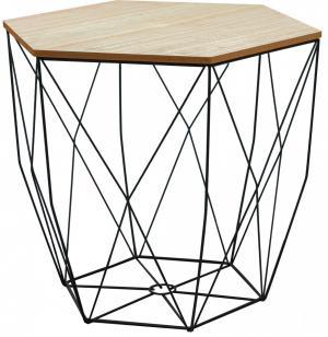 Konferenční stolek drátěný L