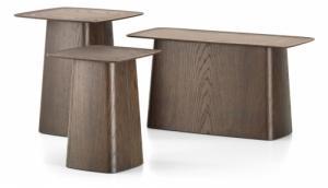Konferenční stolky Wooden side tables