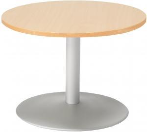 Konferenčný stolík Monty, Ø700 mm, buk / šedá