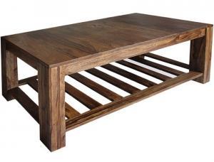 Konferenčný stolík Rami 110x45x60 indický masív palisander - Super natural