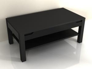 Konferenčný stolík Aberdovey AS 96 (čierna)