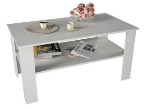 Konferenčný stolík Gertha (biela)