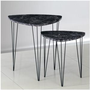 Konferenčný stolík - Tempo Kondela - Stofol (čierna) (2 ks.). Sme autorizovaný predajca Tempo-Kondela.