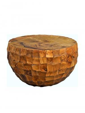Konferenčný stolík tíkový Earl, 70 cm