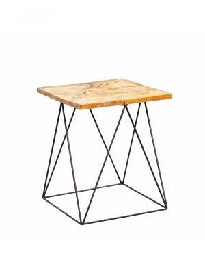 Konferenčný stolík tíkový Luis, 40 cm