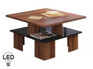 Konferenčný stolík - WIP - Supra 1 (slivka + lesk čierny). Sme autorizovaný predajca WIP.