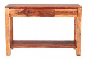 Konzolový stolík Gani 110x35x76 indický masív palisander - Natural