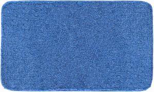 Koupelnová předložka GRUND Melange Džínová Typ: 50x60 cm WC výřez