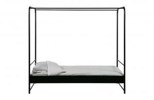 Kovová posteľ Bunk – 90 × 200 cm