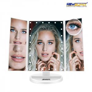 Kozmetické LED zväčšujúce zrkadlo Newsumit 0235, biele