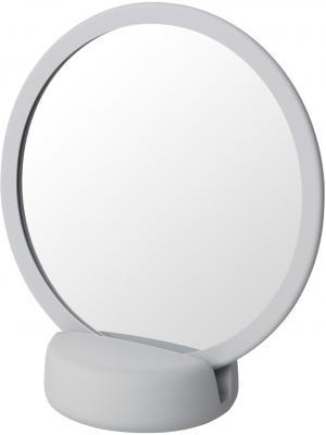 Kozmetické zrkadlo stolné SONO svetlosivé Blomus