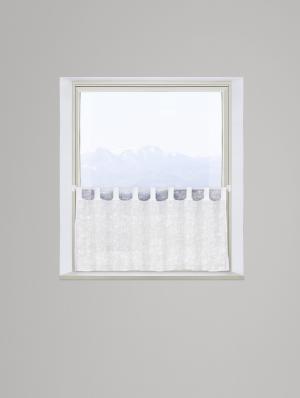krátka Záclona Raphaela, 145/50cm, Biela