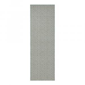 Krémovo-modrý behúň Zala Living Cook & Clean Michael, 60×180cm