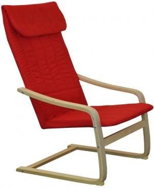 Kreslo LISA červené K51