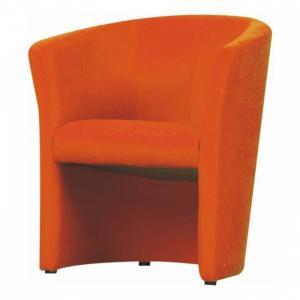 Kreslo, oranžová, CUBA