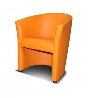 Kreslo - Po-Sed - Kubelek (oranžová). Akcia -18%. Sme autorizovaný predajca Po-Sed.