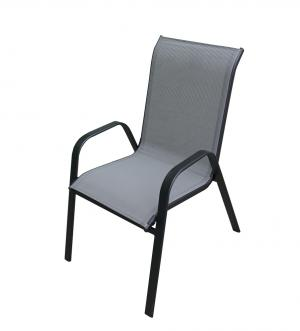 Kreslo XT1012C (ZWC-2429) - šedá textília