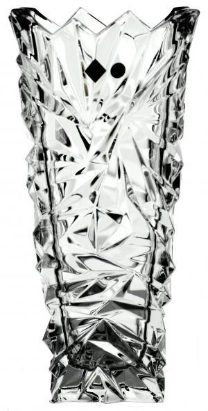 Krištáľová váza Glacier, farba číry krištáľ, výška 305 mm